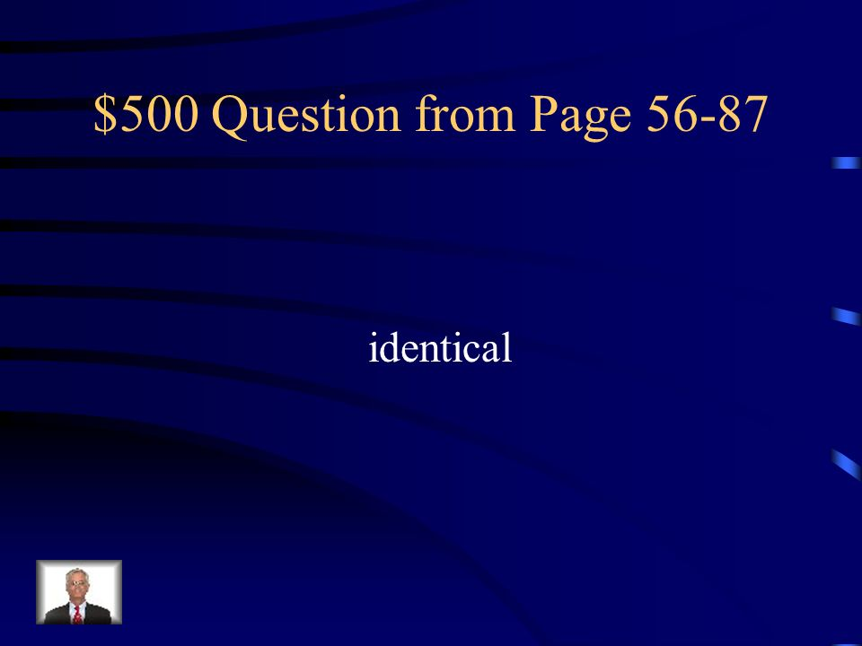 $500 Question from Page 56-87 identical