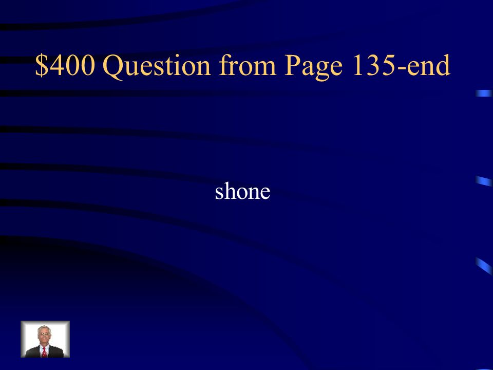 $400 Question from Page 135-end