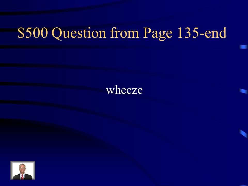 $500 Question from Page 135-end