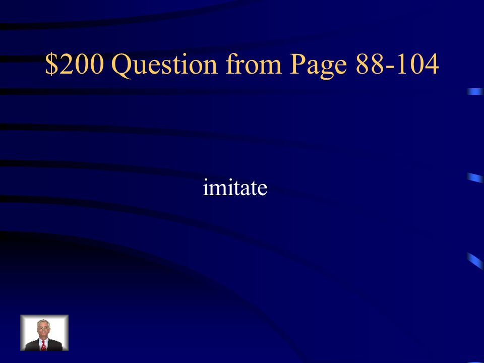 $200 Question from Page imitate