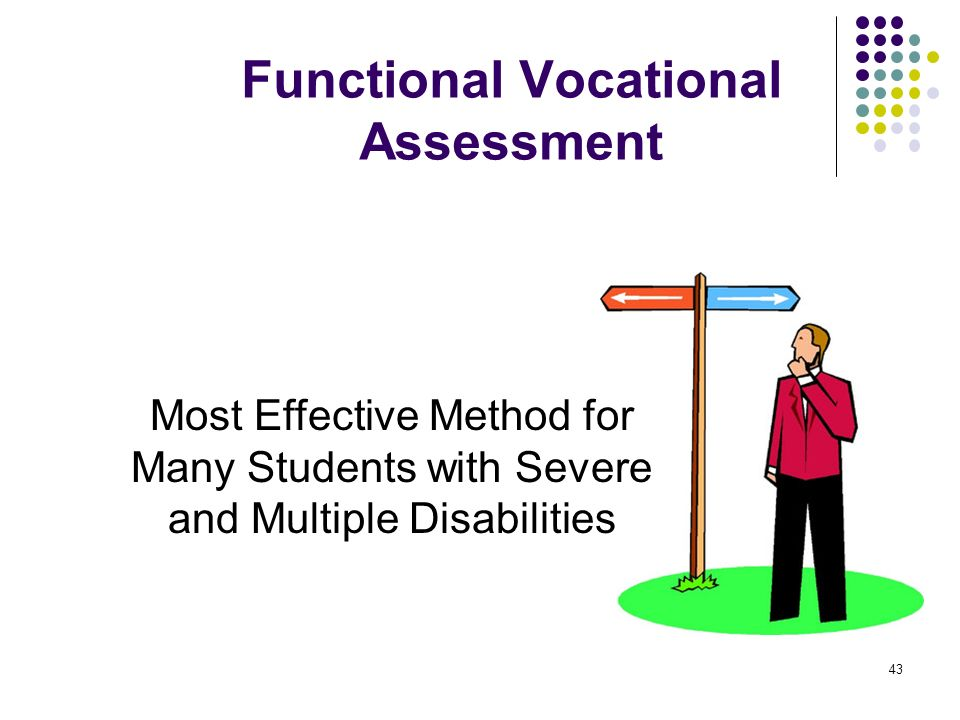 Functional Vocational Assessment