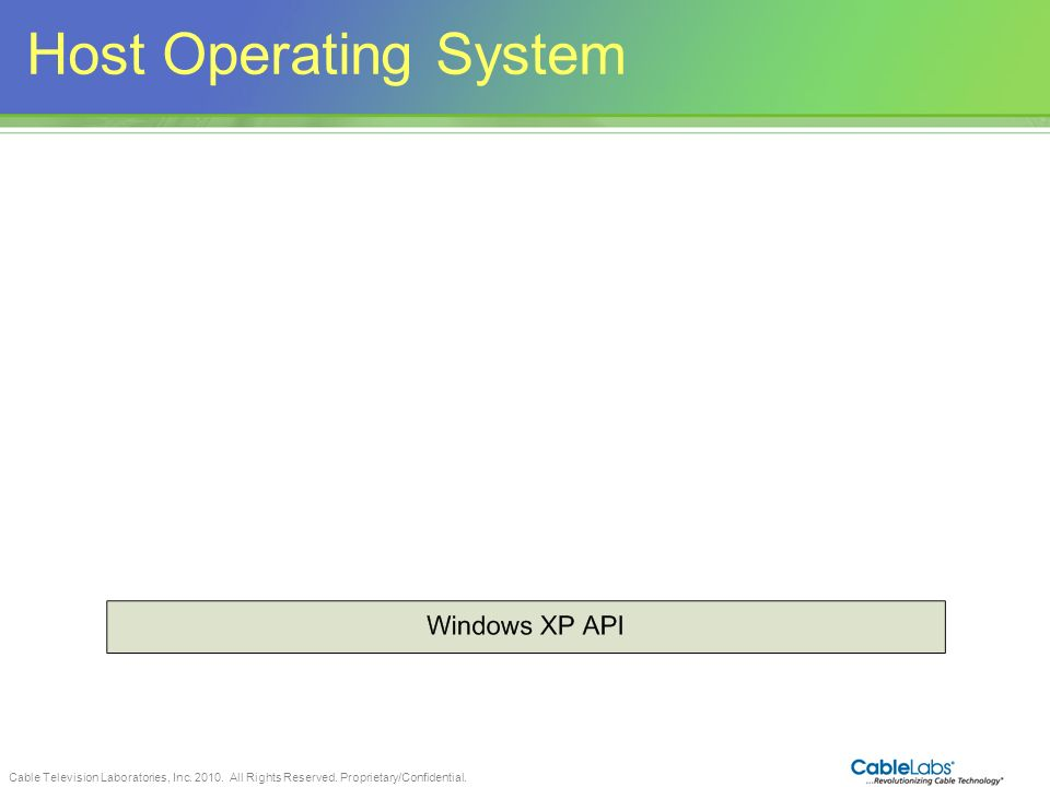 Host Operating System