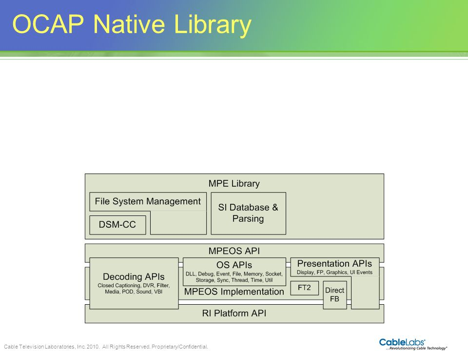 OCAP Native Library