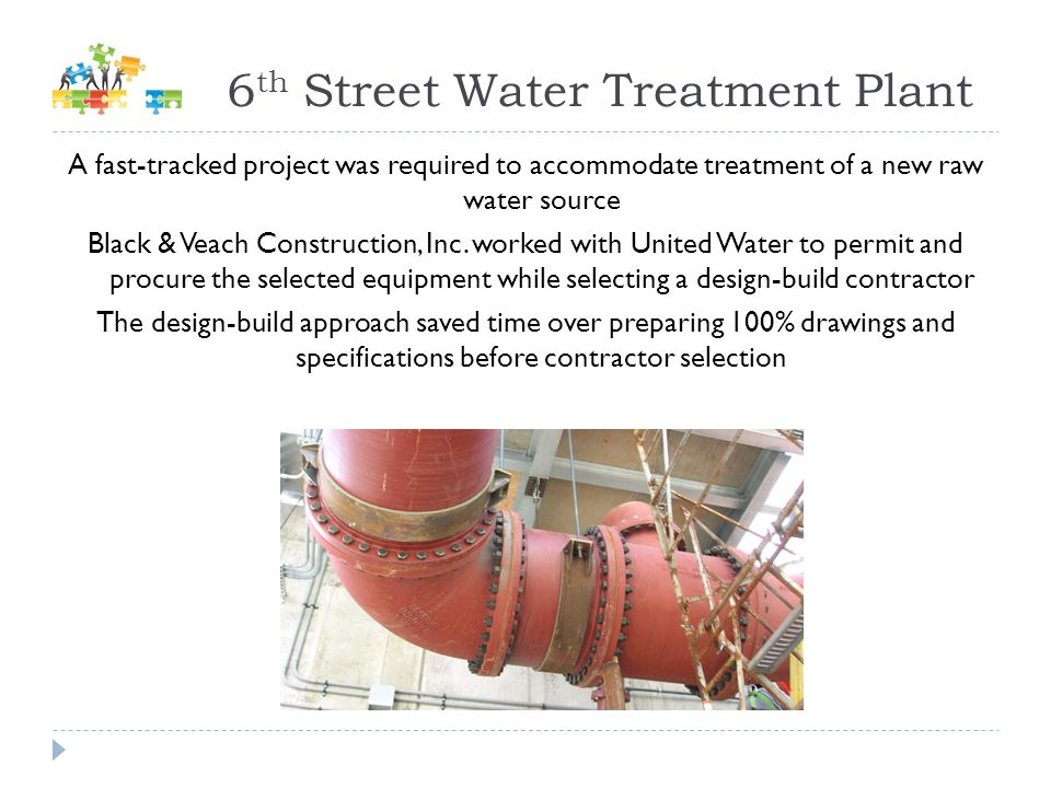 6th Street Water Treatment Plant
