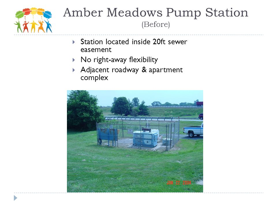 Amber Meadows Pump Station (Before)