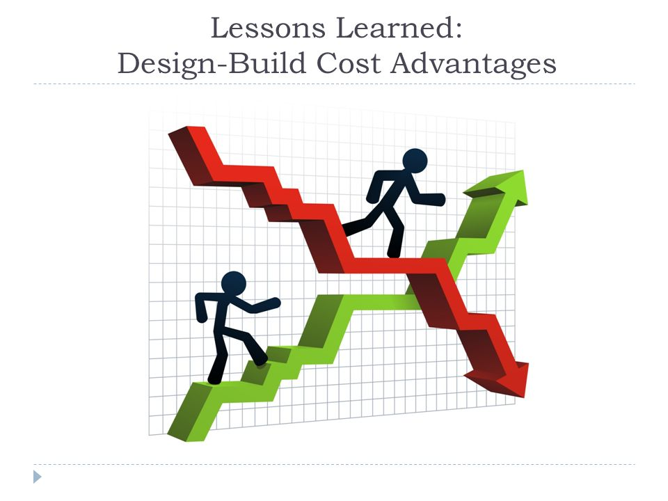 Lessons Learned: Design-Build Cost Advantages