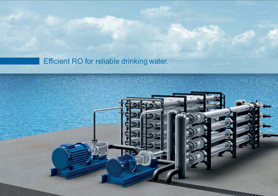 Efficient RO for reliable drinking water.