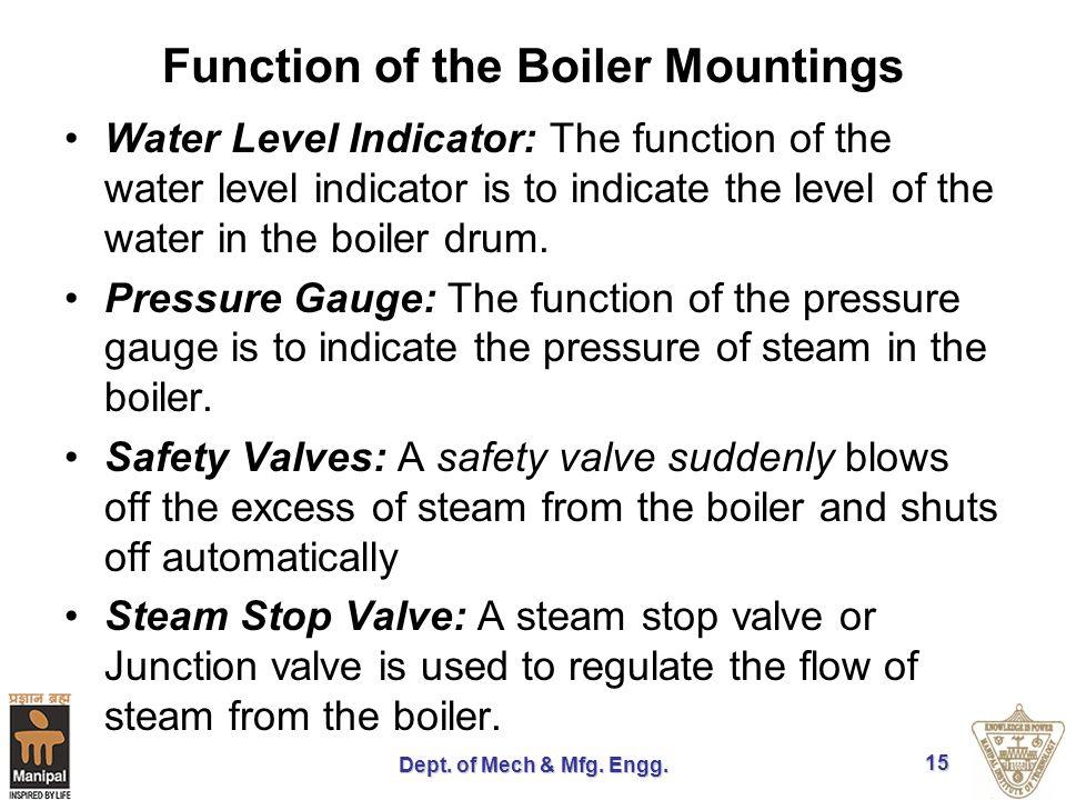 Boilers Dept. of Mech & Mfg. Engg.. - ppt video online download
