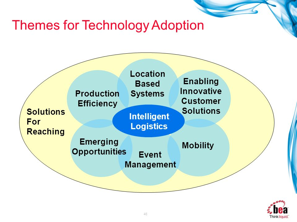 Themes for Technology Adoption