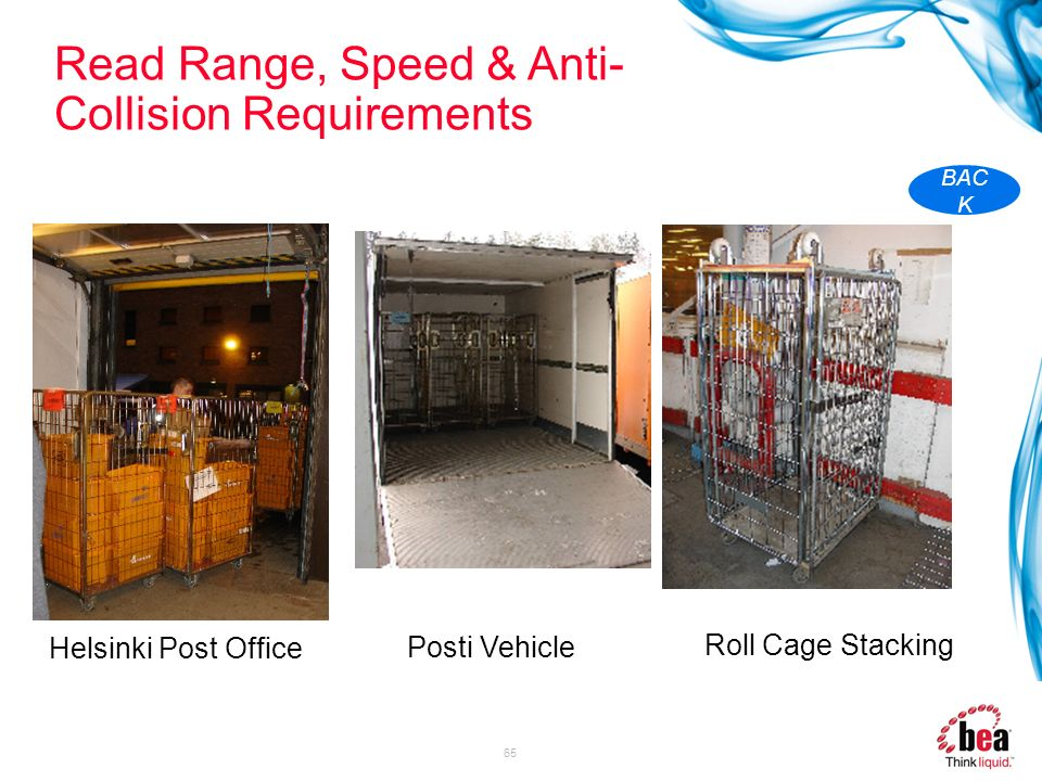 Read Range, Speed & Anti-Collision Requirements