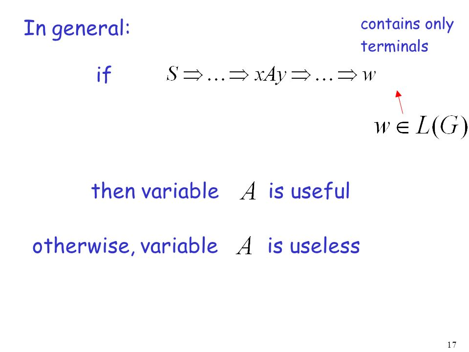 then variable is useful