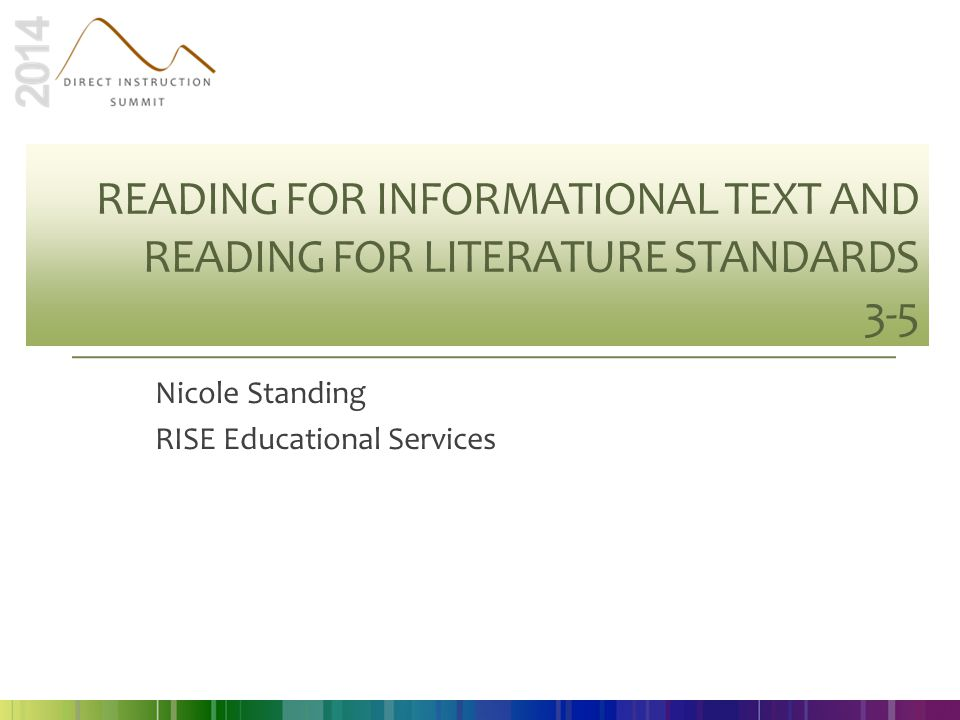 Nicole Standing RISE Educational Services