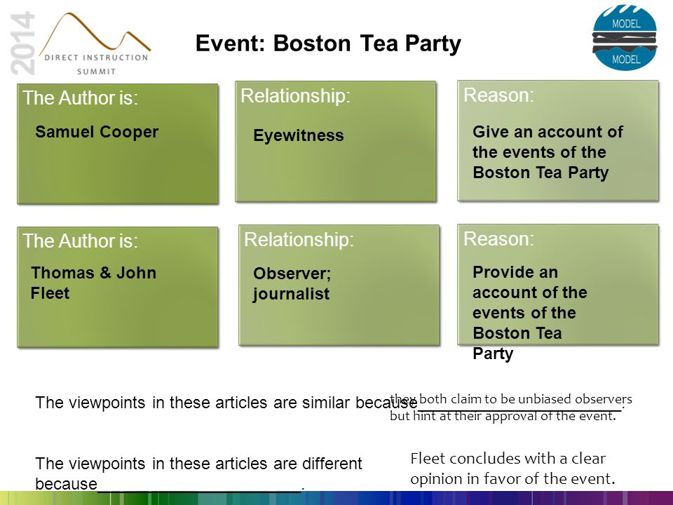 Event: Boston Tea Party