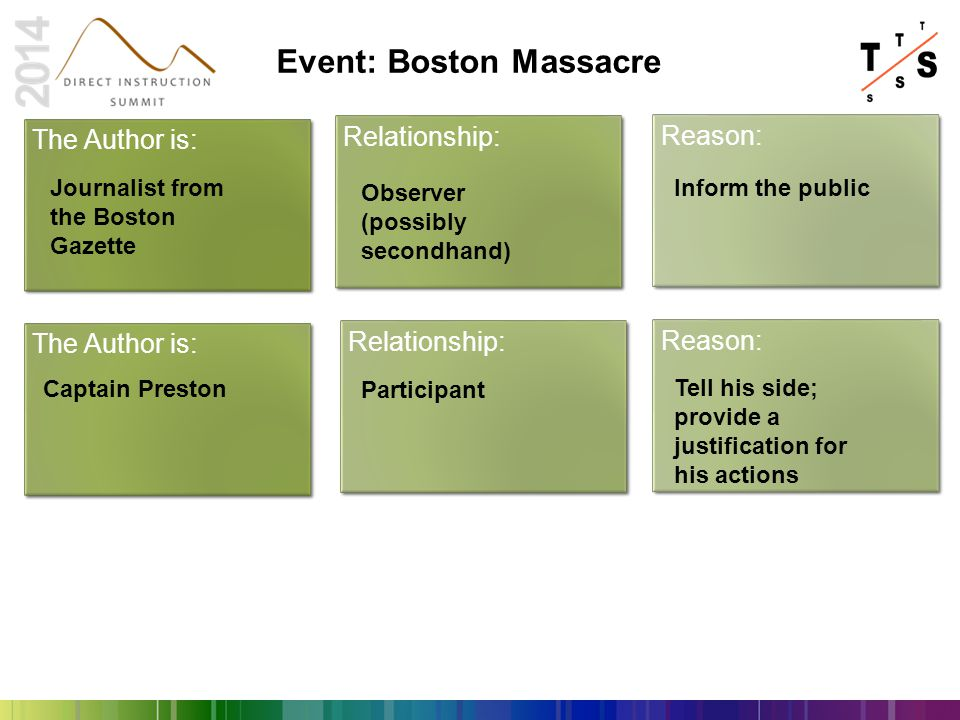 Event: Boston Massacre