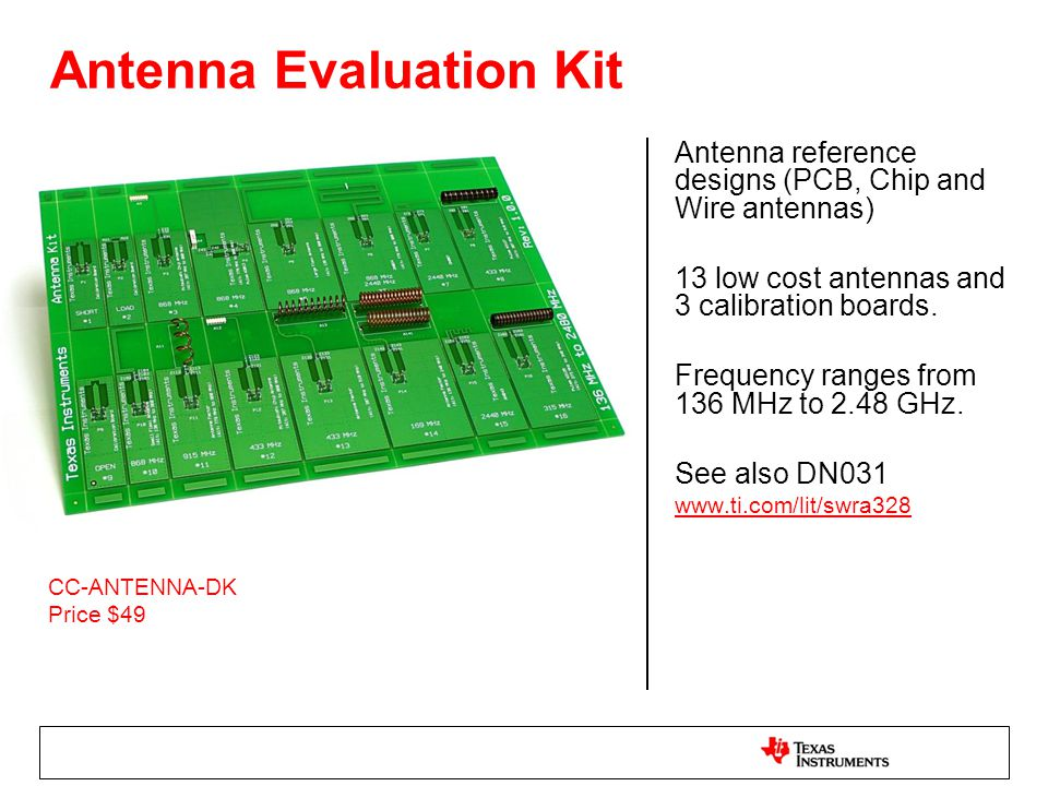 Antenna Evaluation Kit