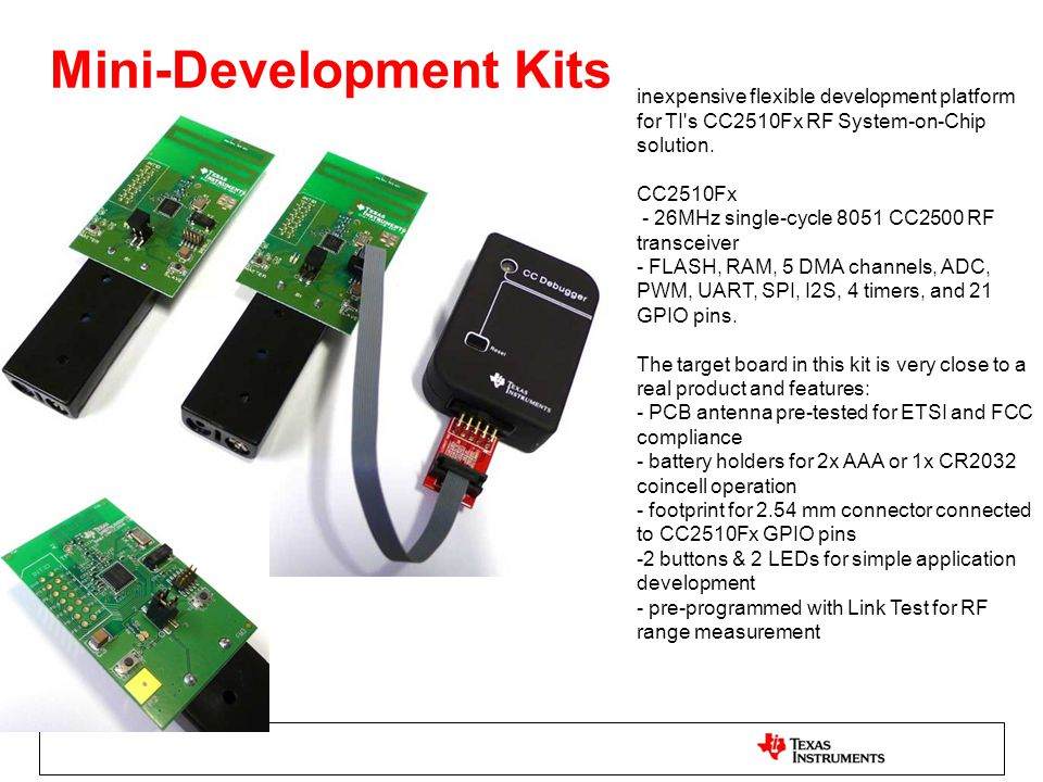 Mini-Development Kits