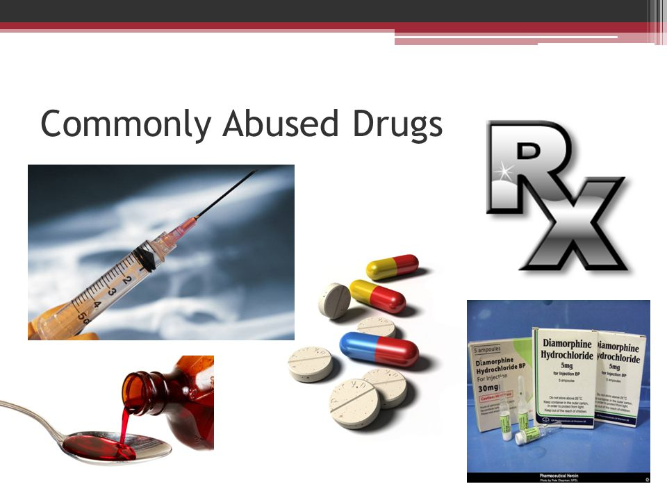 Commonly Abused Drugs