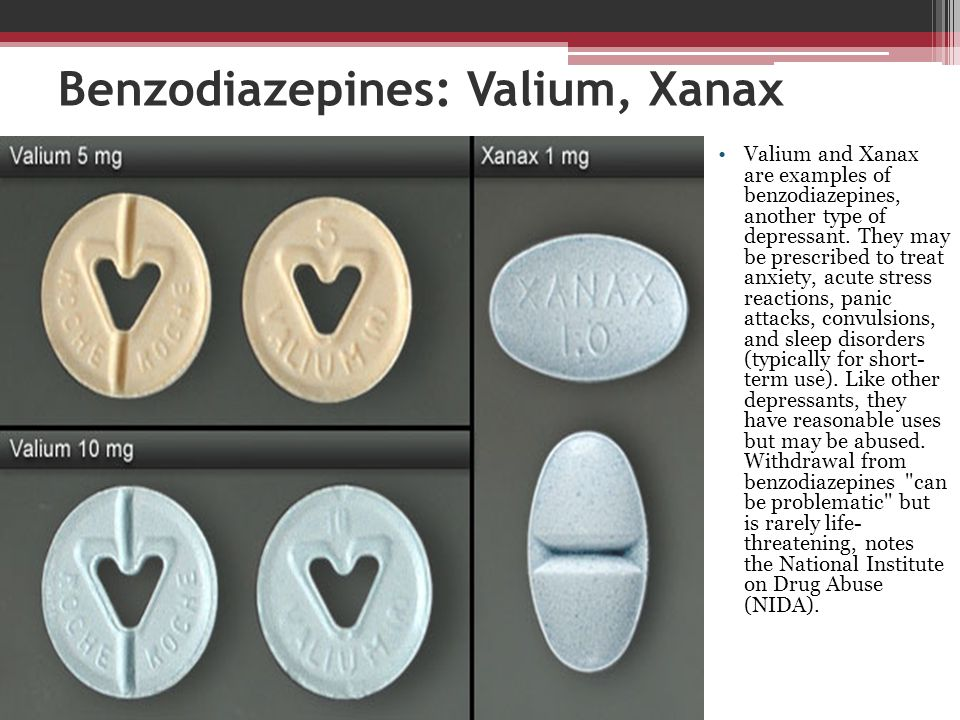 xanax for acute anxiety