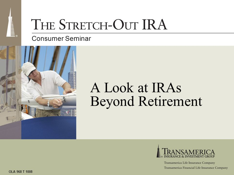 A Look at IRAs Beyond Retirement
