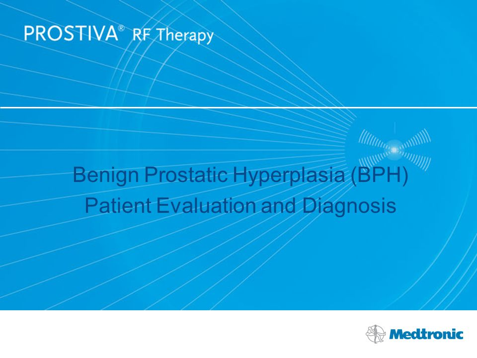 Benign Prostatic Hyperplasia (BPH) Patient Evaluation and Diagnosis