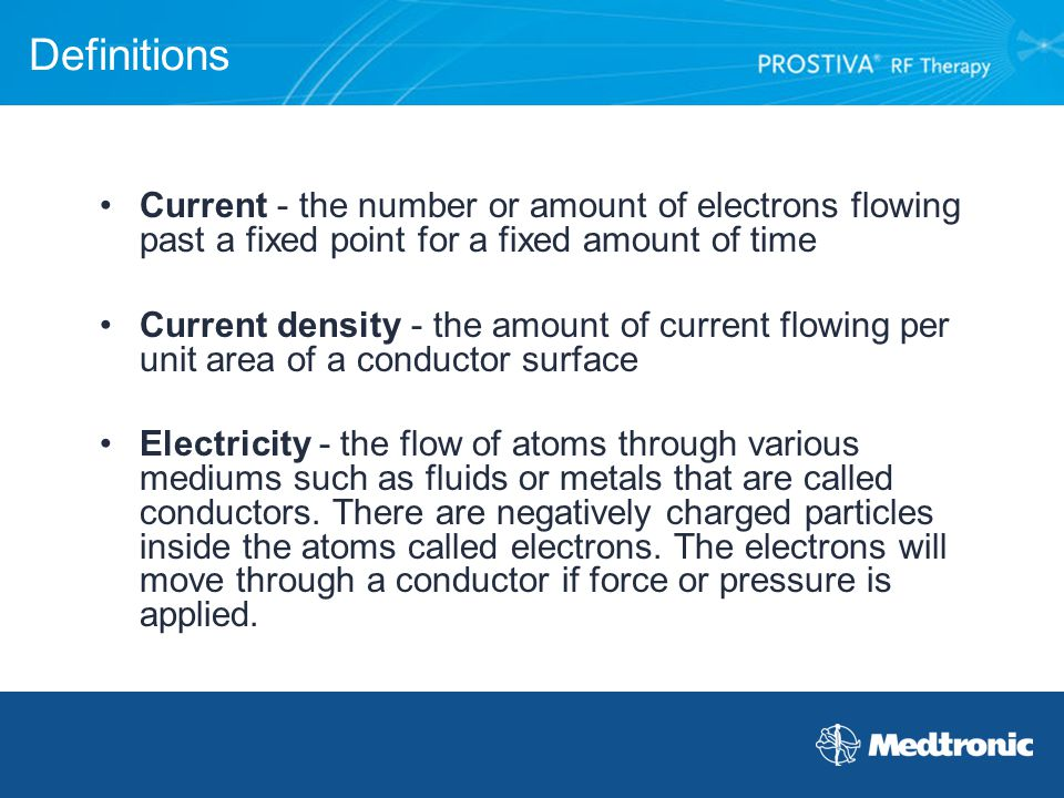 Definitions Current - the number or amount of electrons flowing past a fixed point for a fixed amount of time.