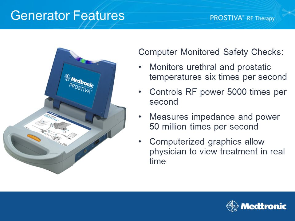 Generator Features Computer Monitored Safety Checks: