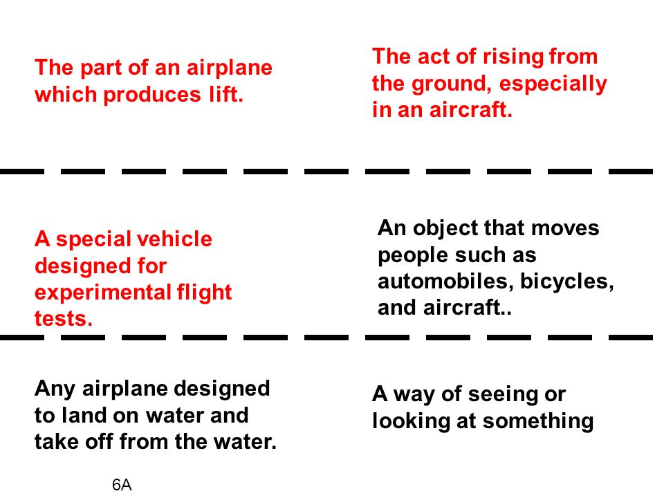 The act of rising from the ground, especially in an aircraft.
