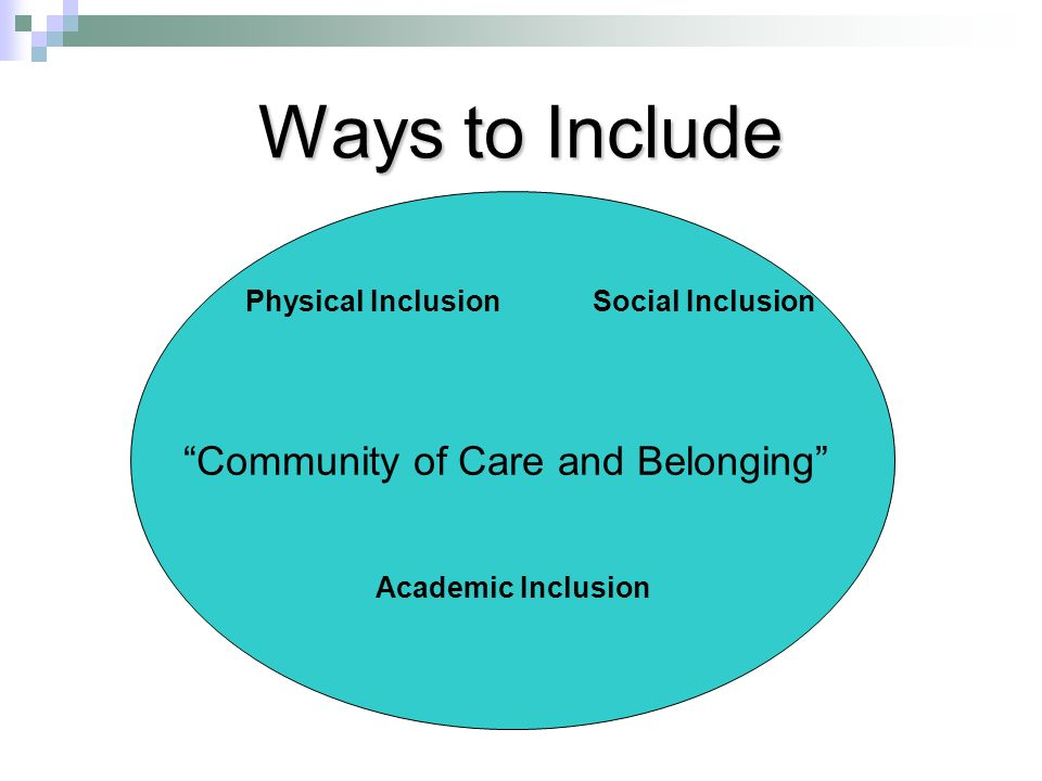 Community of Care and Belonging