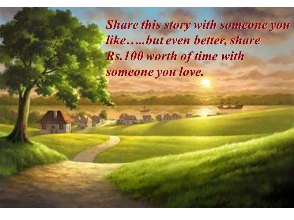 Share this story with someone you like…. but even better, share Rs