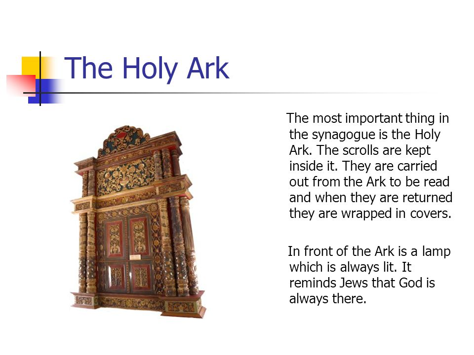 The Holy Ark