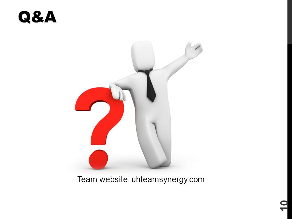 Team website: uhteamsynergy.com