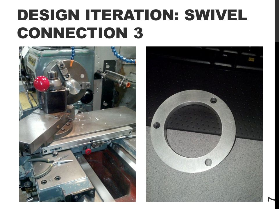 DESIGN ITERATION: Swivel Connection 3