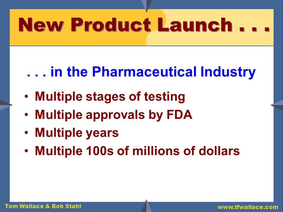 . . . in the Pharmaceutical Industry