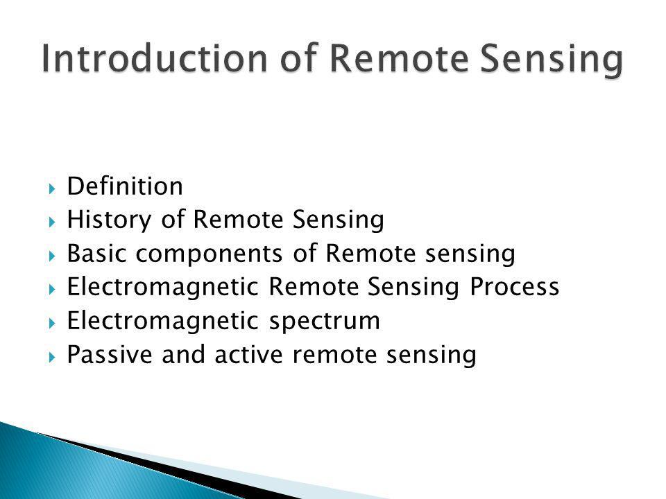Remote sensing and its applications |authorstream.