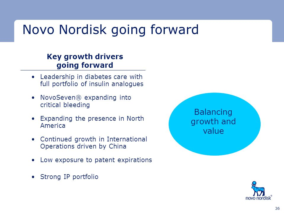 Key growth drivers going forward
