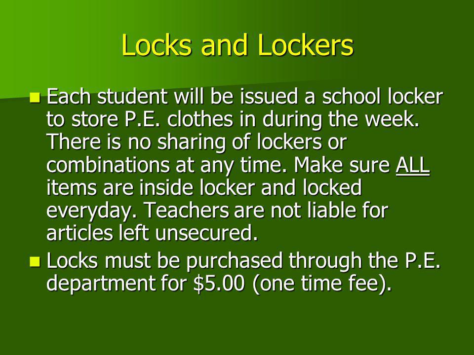 Locks and Lockers