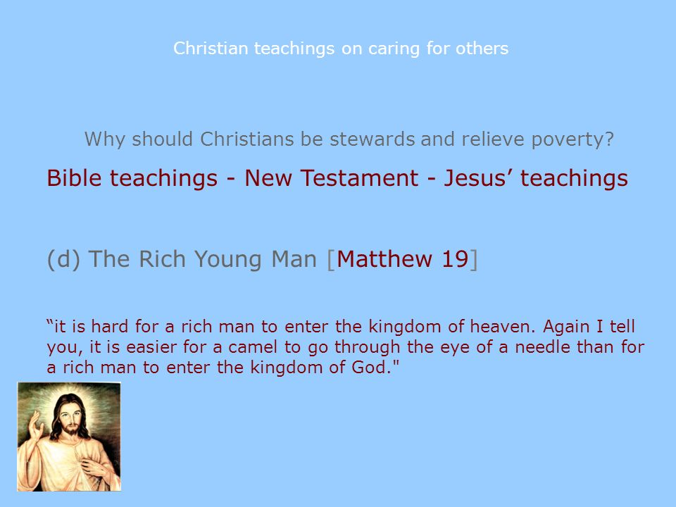 Bible teachings - New Testament - Jesus' teachings