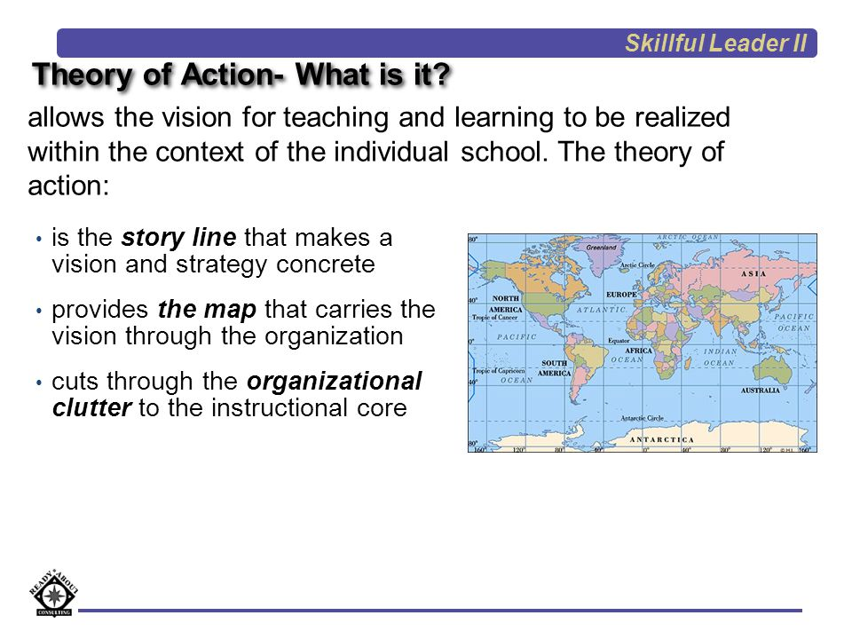 Theory of Action- What is it