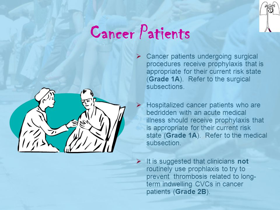 Cancer Patients