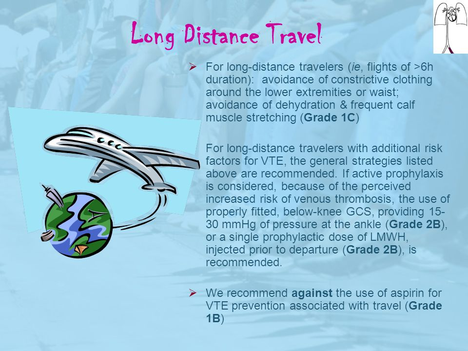 Long Distance Travel
