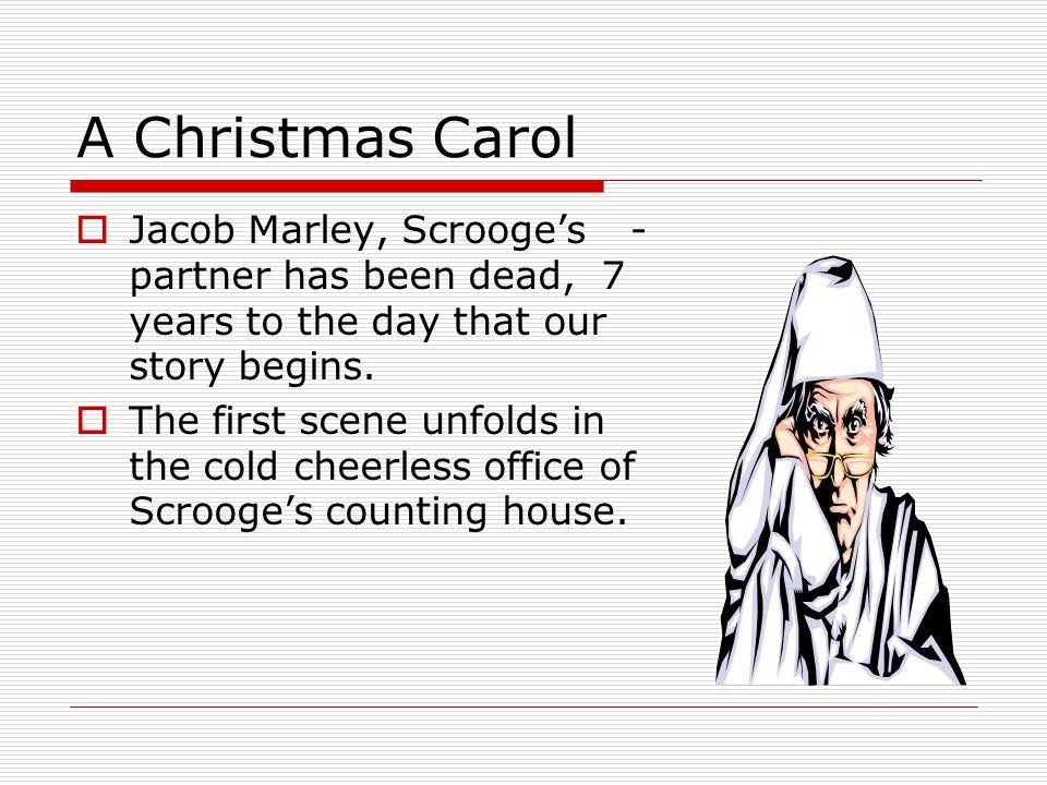 a christmas carol summary