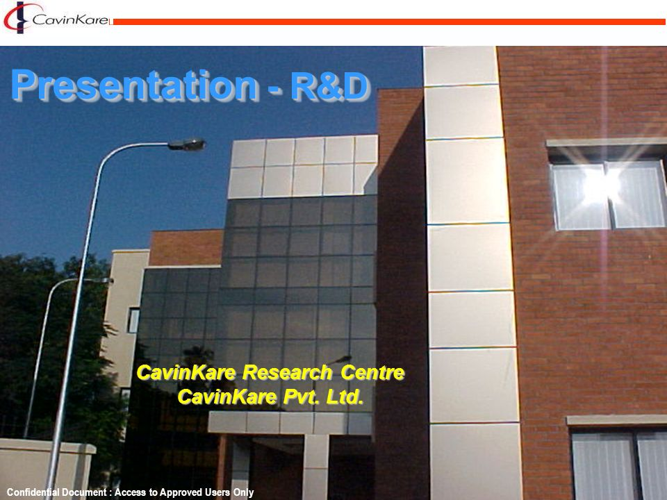 CavinKare Research Centre