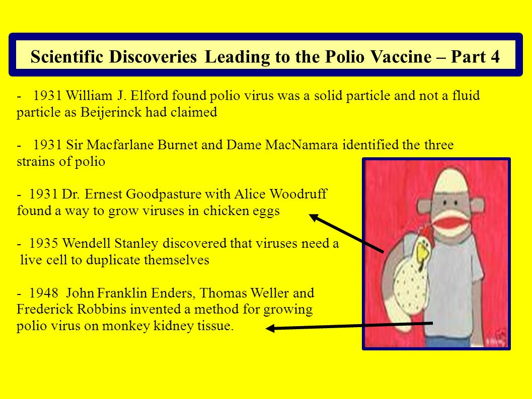 Scientific Discoveries Leading to the Polio Vaccine – Part 4