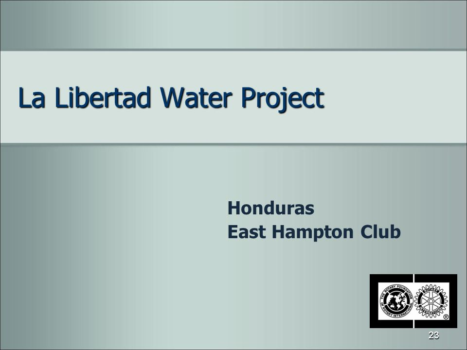 La Libertad Water Project