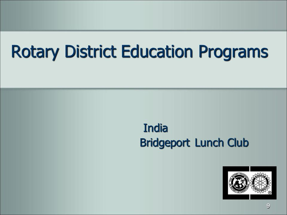 Rotary District Education Programs