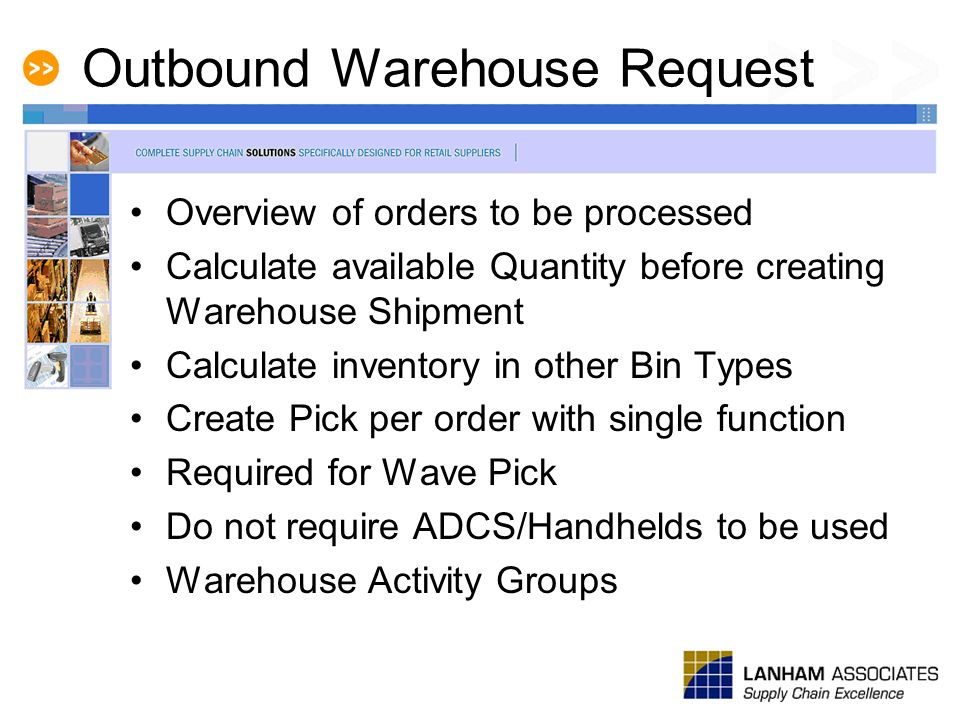 Outbound Warehouse Request