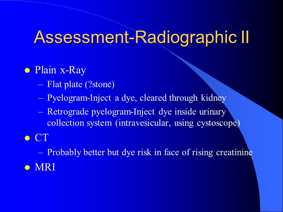 Assessment-Radiographic II