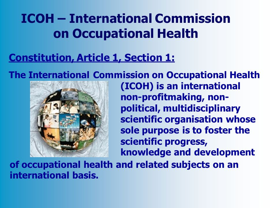 ICOH – International Commission on Occupational Health