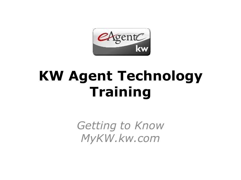 KW Agent Technology Training