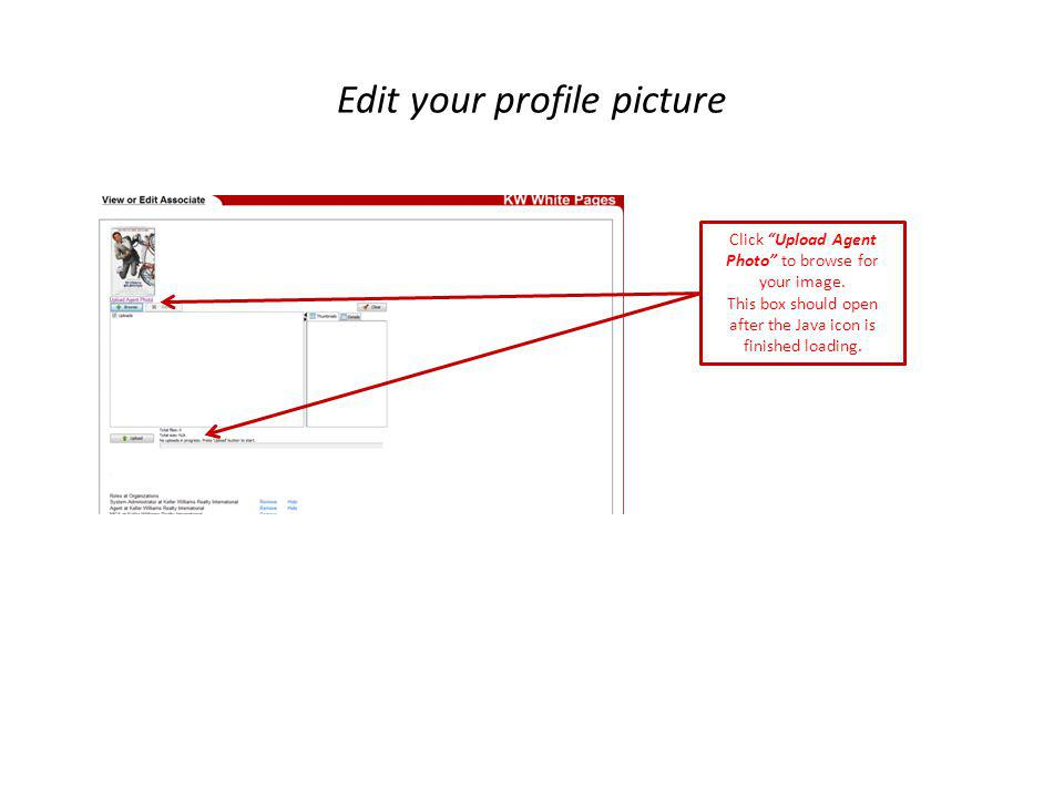 Edit your profile picture